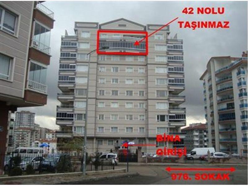 Ankara Mamak Bankadan Satılık 152 m2 Daire