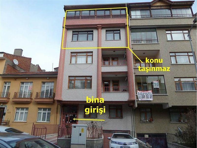 Ankara Yenimahalle'de 4+1 234 m² Daire
