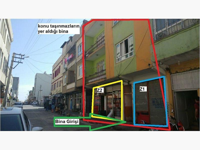 Adıyaman Kahta Atatürk'de 20 m2 Dükkan