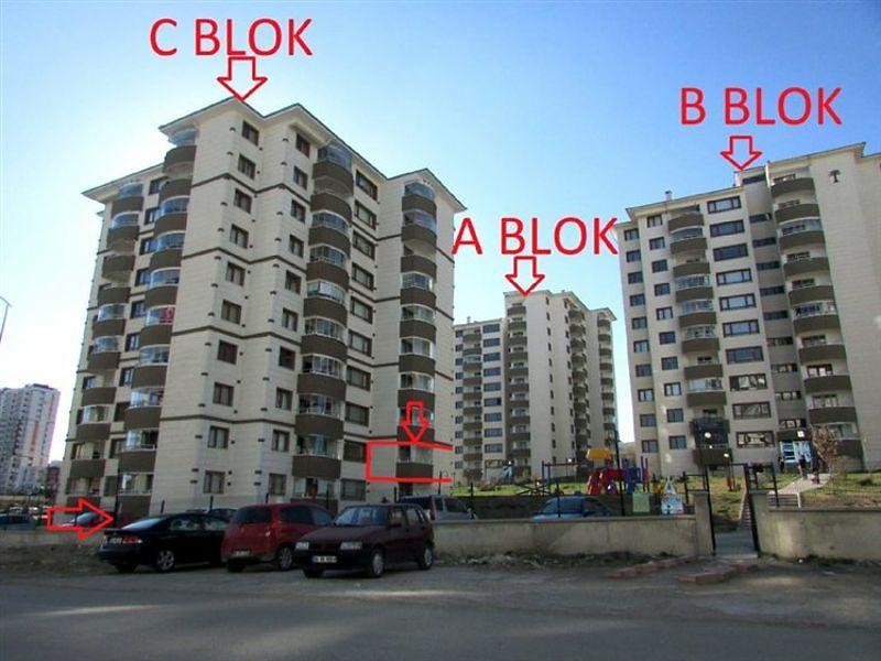 Ankara Yenimahalle Ata Mahallesi'nde 3+1 125 m2 Daire