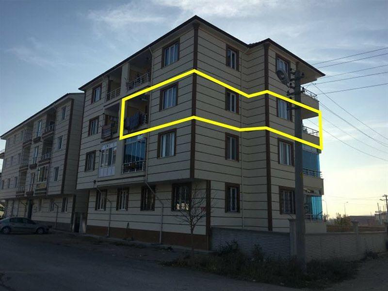 Afyonkarahisar Bolvadin Bankadan Satılık 82 m2 Daire