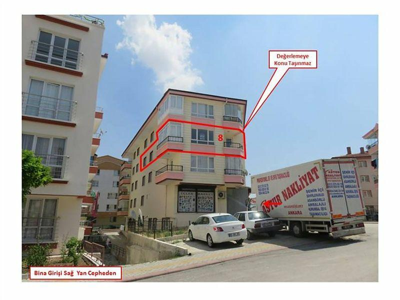 Ankara Altındağ Bankadan Satılık 118 m2 Daire