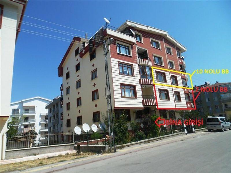 Ankara Altındağ Beşikkaya'da 3+1 108 m2 Daire
