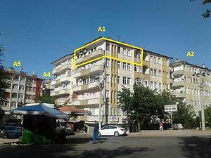 Diyarbakır Bağlar Bankadan Satılık 115 m2 Daire