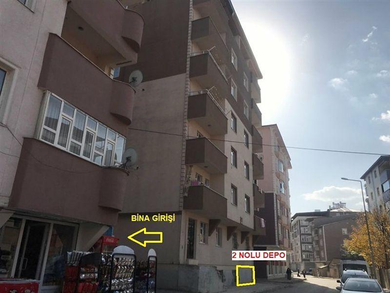 Ağrı Merkez Bankadan Satılık 57 m2 Depo