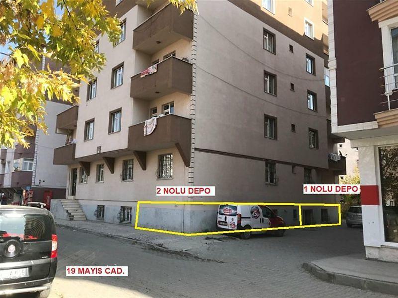 Ağrı Merkez Bankadan Satılık 51 m2 Depo