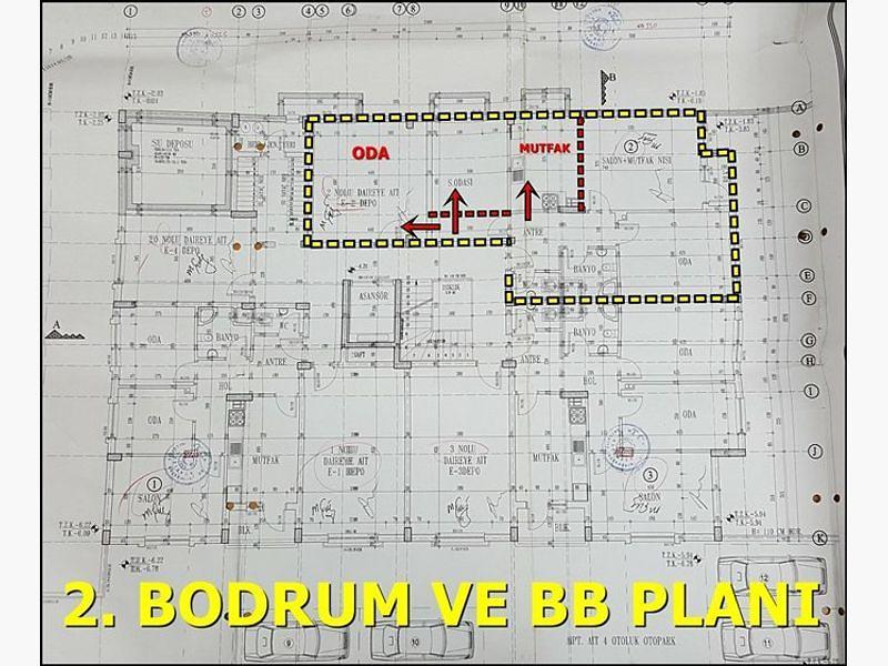 Ankara Keçiören Bankadan Satılık 107 m2 Daire