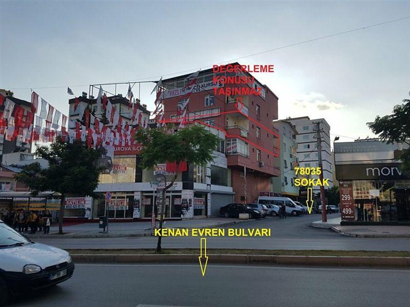 Adana Çukurova Bankadan Satılık 160 m2 Daire