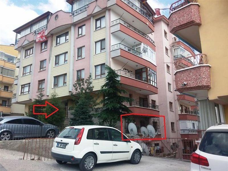 Ankara Keçiören Çaldıran'da 1+1 96 m2 Daire