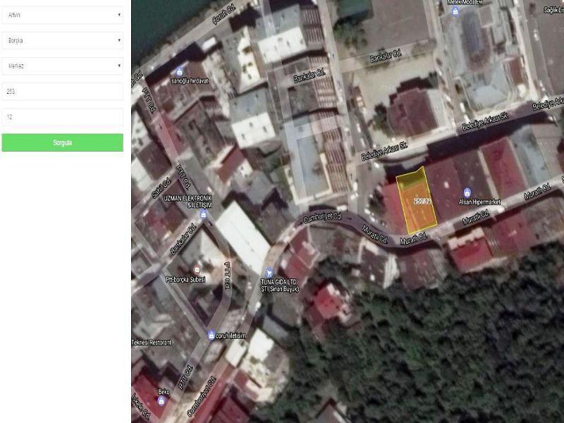 Artvin Borçka Bankadan Satılık 104 m2 Daire
