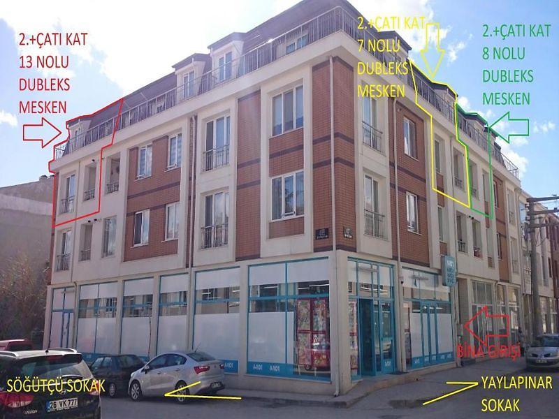 Eskişehir Tepebaşı Şirintepe Mahallesinde 93 m2