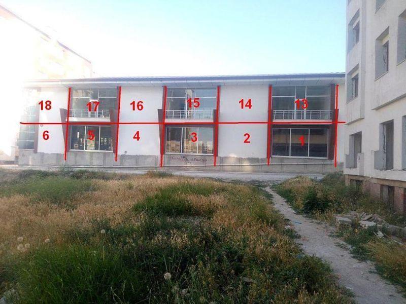 Van İpekyolu Hatuniye Mahallesinde 44 m2 1 Nolu Mağaza
