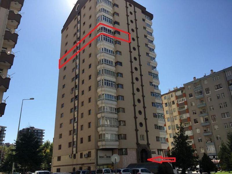 Kayseri Kocasinan Erciyesevler Mahallesi'nde 4+1 262 m2 Daire