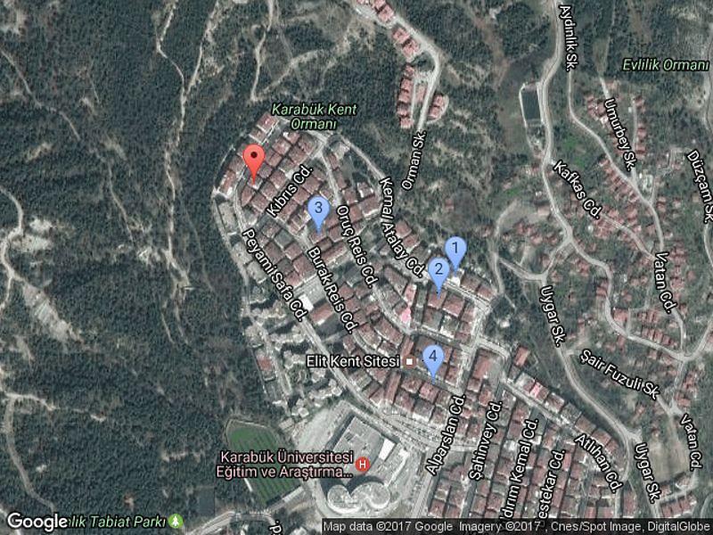 Karabük Merkez Bankadan Satılık 152 m2 Daire
