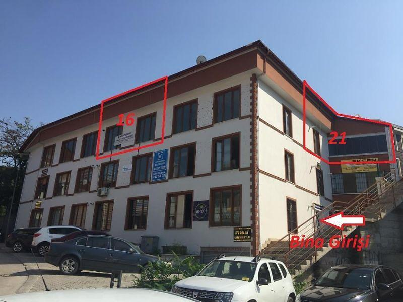 Tokat Merkez Alipaşa Mahallesinde 86 m Büro