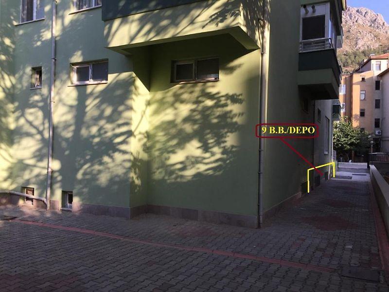 Amasya Merkez Bankadan Satılık 97 m2 Depo