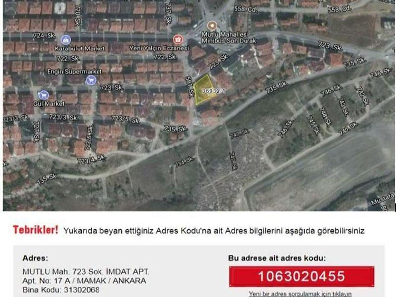 Ankara Mamak Bankadan Satılık 160 m2 Dükkan