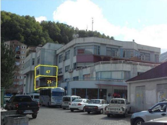 Artvin Borçka Merkez Mahallesinde 58 m2 Ofis