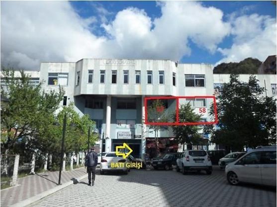Artvin Borçka Bankadan Satılık 58 m2 Ofis