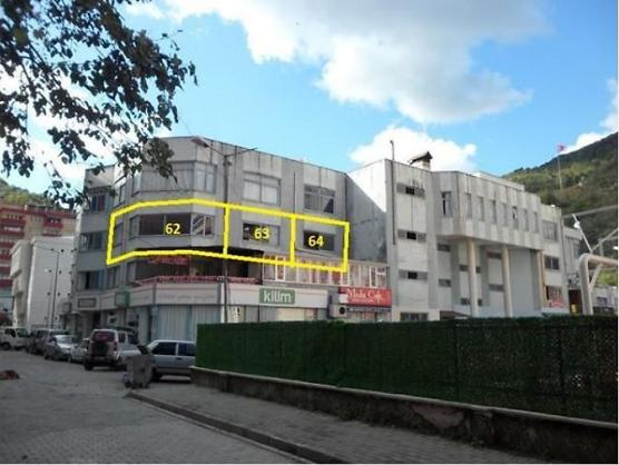 Artvin Borçka Bankadan Satılık 59 m2 Ofis