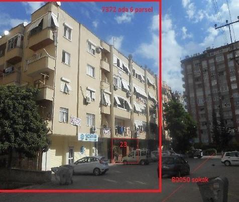 Adana Çukurova Bankadan Satılık 260 m2 Dükkan