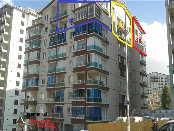 Ankara Mamak Durali Alıç'ta 178 m2 Daire