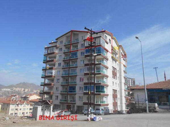 Ankara Mamak Durali Alıç'ta 166 m2 Daire