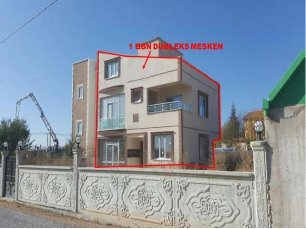 Konya Meram Lalebahçe Mahallesi'nde Dubleks Bina