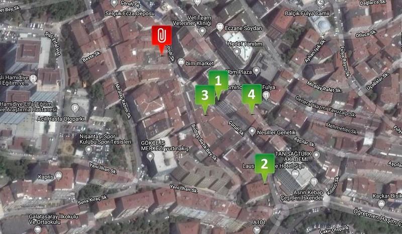 İstanbul Şişli Sahibinden Satılık 66 m2 Daire