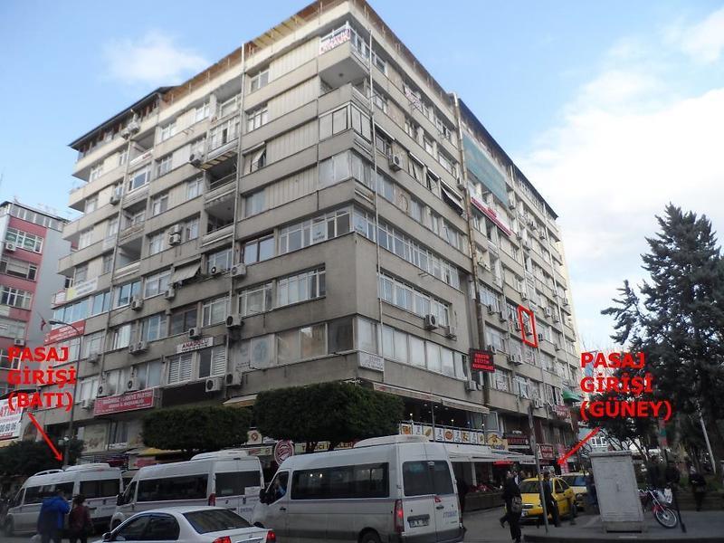 Adana Seyhan Bankadan Satılık 40 m2 Ofis
