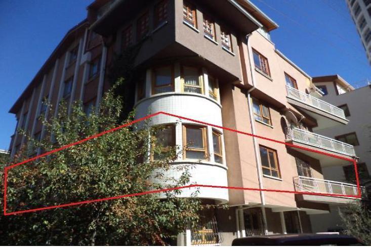 Ankara Çankaya Bankadan Satılık 230 m2 Daire
