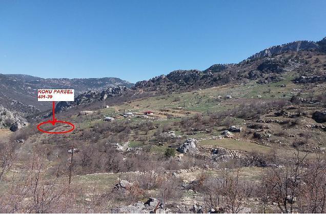 Antalya Alanya Kayapınar Köyünde 5.193 m2 Tarla