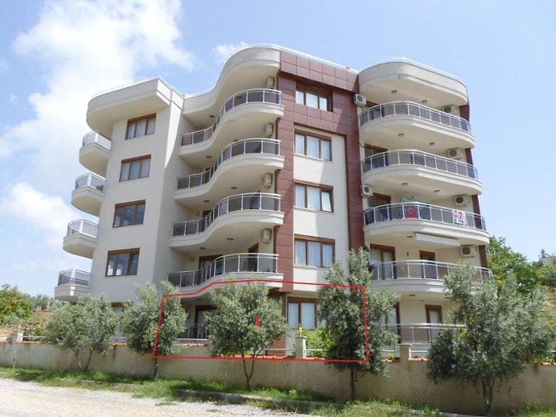 Antalya Alanya Avsallar'da 1+1 78m2 Daire