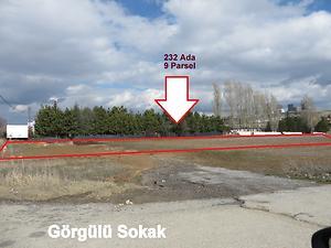 Ankara Gölbaşı İncek Mahallesinde Hisseli 209 m2 Konut İmarlı Arsa