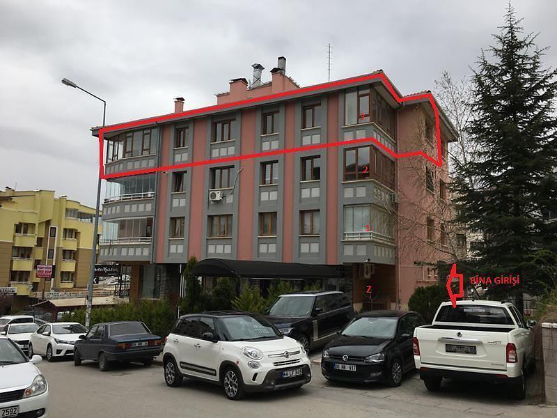 Ankara Çankaya Hilal Mahallesi'nde 4+1 162 m2 Daire