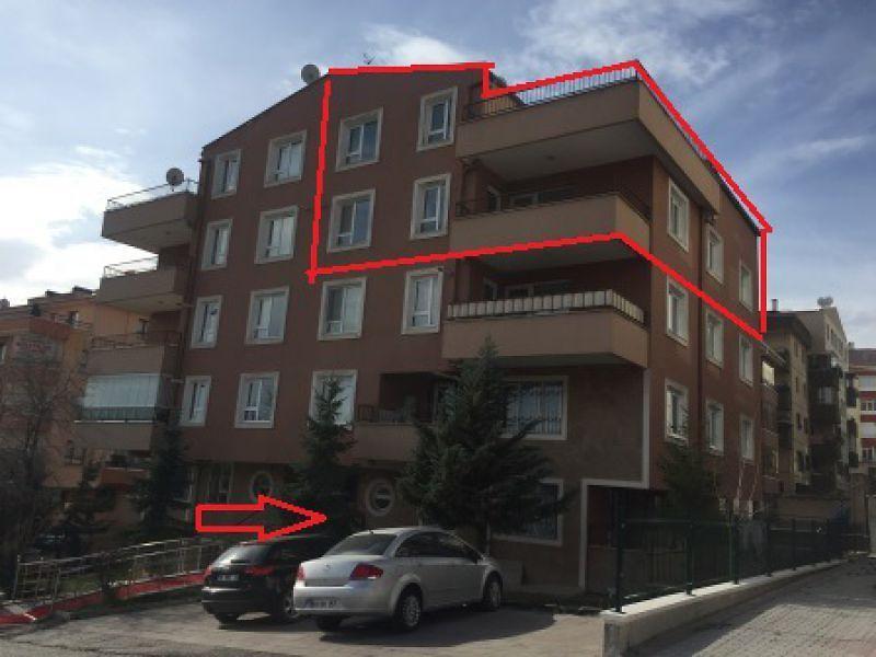 Ankara Çankaya Mürsel Uluç Mahallesinde 235m2 4+1 Dubleks Daire
