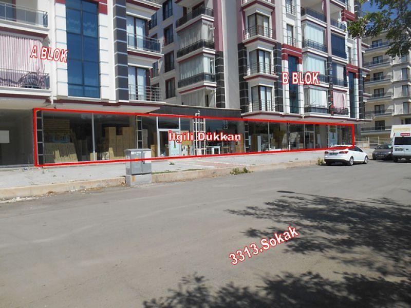 Aksaray Merkez Bankadan Satılık 1387 m2 Dükkan