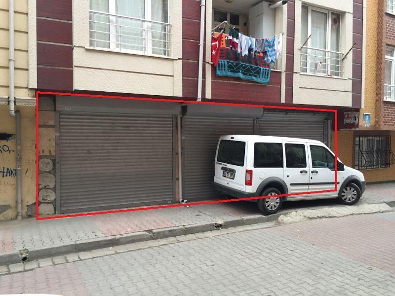 İstanbul Gaziosmanpaşa Karadeniz Mahallesinde 98 m2 Dükkan