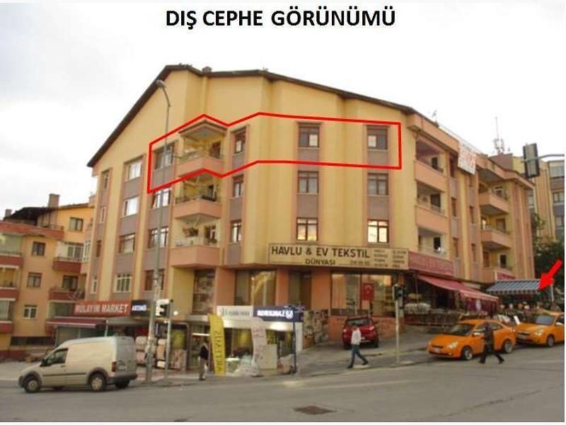Ankara Keçiören Bademlik Mahallesinde 110 m2 3+1 Daire