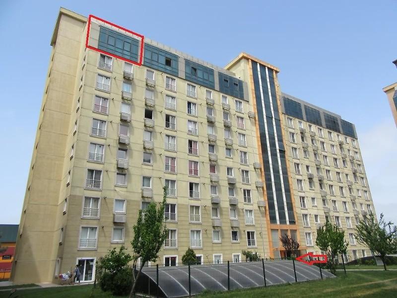 Tüyap Yanında Hera Club Sitesi Yatırımlık 1+1 Cam Tavan Dubleks