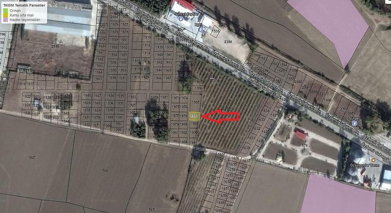 Adana Ceyhan Sahibinden Satılık 240 m2 Tarla