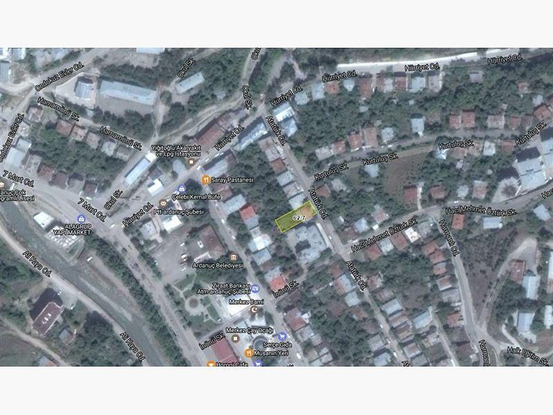 Artvin Ardanuç Bankadan Satılık 168 m2 Bina
