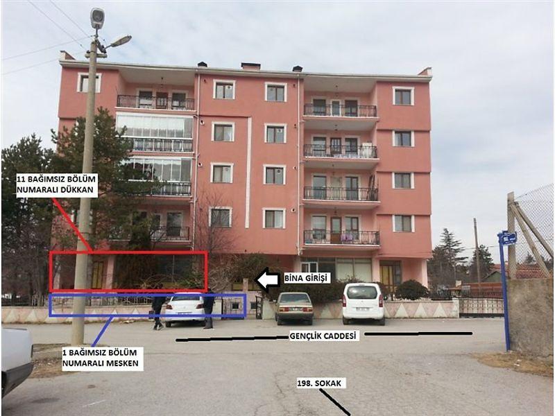 Ankara Elmadağ Hasanoğlan Mahallesinde  96 m2 Dükkan