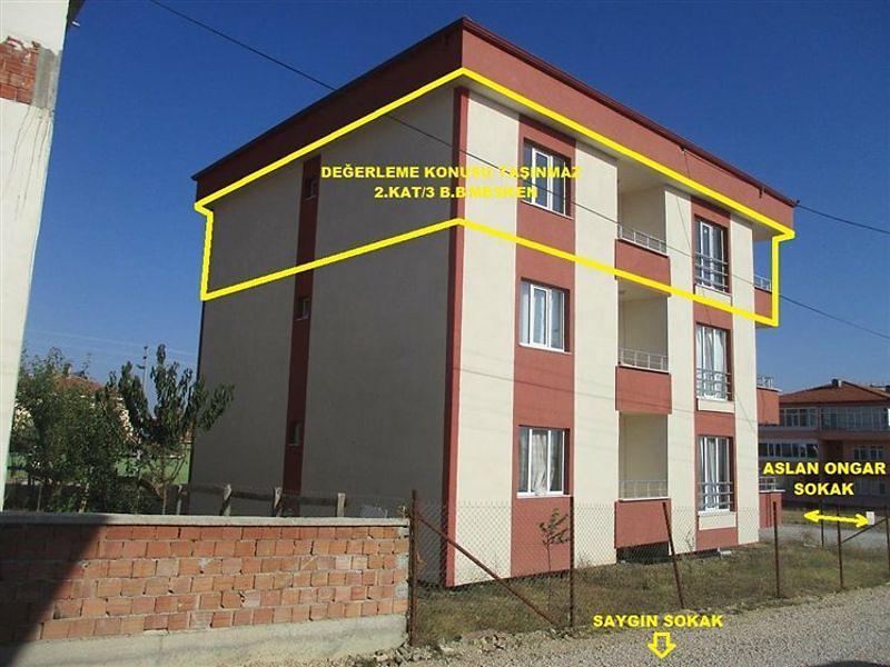 Amasya Merzifon Bankadan Satılık 116 m2 Daire