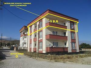 Amasya Merzifon Yunus Emre Mahallesinde 116 m2 3+1 Daire