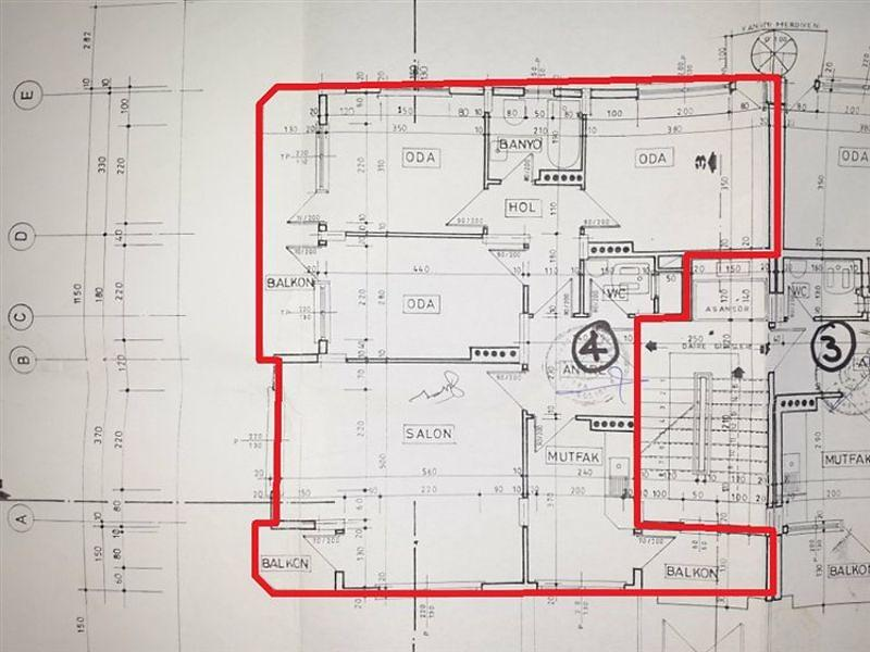 Amasya Merkez Bankadan Satılık 113 m2 Daire