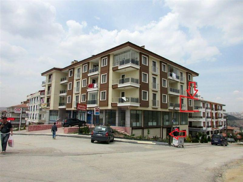 Ankara Altındağ Bankadan Satılık 133 m2 Daire