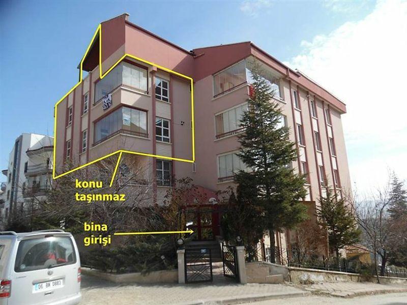 Ankara Çankaya Kırkkonaklar Mahallesinde 4+1 270 m2 Dubleks