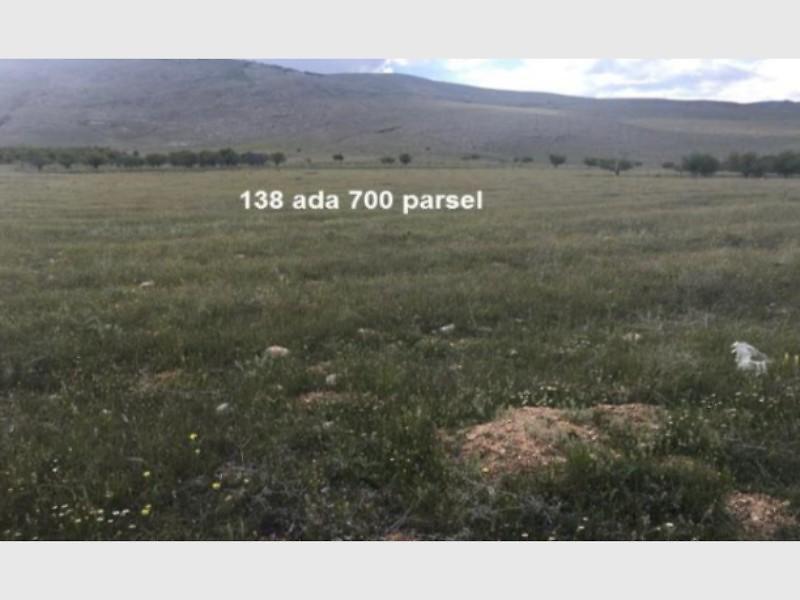 Afyonkarahisar Şuhut Bankadan Satılık 17500 m2 Tarla