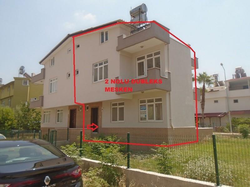 Antalya Serik Boğazkent Mahallesinde 4+1 119 m2 Dubleks Daire